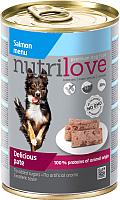 Корм для собак Nutrilove Pate Salmon (400г) -