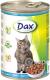 Корм для кошек Dax С рыбой (415г) -
