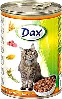 Корм для кошек Dax С птицей (415г) -