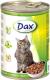 Корм для кошек Dax С кроликом (415г) -