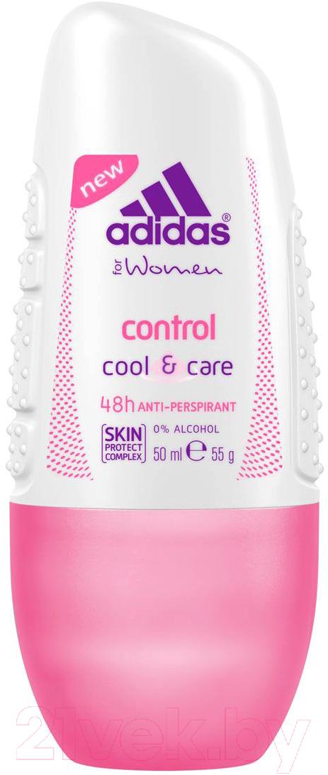 Купить Дезодорант шариковый Adidas, Cool&Care Control 48ч антиперспирант (50мл), Испания