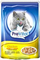 Корм для кошек Prevital Chicken in jelly (100г) -