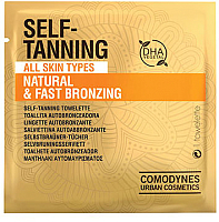 Салфетка-автозагар Comodynes Натуральный быстрый загар для всех типов кожи (1шт) -