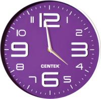 Настенные часы Centek СТ-7101 (фиолетовый) -