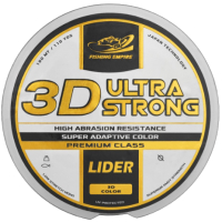 Леска монофильная Fishing Empire Lider 3D Ultra Strong 0.25мм 100м / 3D-025 -