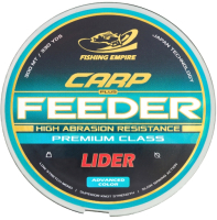 Леска монофильная Fishing Empire Lider Carp Plus Feeder Clear 0.30мм 300м / СL-030 -