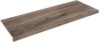 Ступень Zeus Ceramica Allwood Brown Капинос (898x345) -