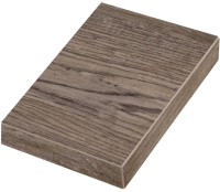 Ступень Zeus Ceramica Allwood Brown Правая Капинос SZBXWU6BRP2 (345x150) -