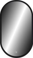 Зеркало Континент Prime Black Led 45x80 -