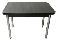 Обеденный стол Solt СТД-09 (северное дерево темное/ноги круглые хром) -