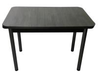 Обеденный стол Solt СТД-09 (северное дерево темное/ноги круглые черные) -