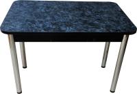 Обеденный стол Solt Молли 2 (костило/ноги круглые хром) -