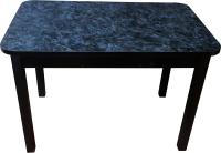 Обеденный стол Solt Молли 2 (костило/ноги квадратные черные) -