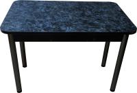 Обеденный стол Solt Молли 1 (костило/ноги круглые черные) -