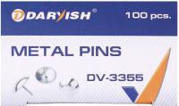 Кнопки канцелярские Darvish DV-3355 (100шт) -