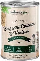 Корм для кошек Chicopee Kitten С говядиной, курицей и олениной / H50810 (400г) -