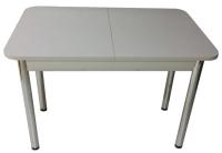 Обеденный стол Solt СТД-09 (серый/ноги круглые хром) -