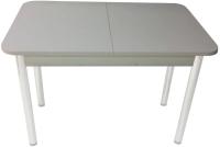 Обеденный стол Solt СТД-08 (серый/ноги круглые серые) -