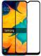Защитное стекло для телефона Case Full Glue для Galaxy A20S (черный) -