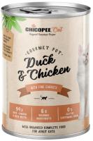 Корм для кошек Chicopee Adul утка с курицей / H50814 (400г) -