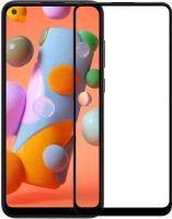 Защитное стекло для телефона Case Full Glue для Galaxy A11 (черный) -