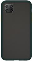 Чехол-накладка Case Acrylic Huawei P40 Lite / Nova 6SE (зеленый) -