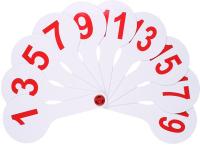 Касса-веер Darvish DV-11508 (цифры) -