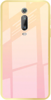 Чехол-накладка Case Aurora для Redmi K20/K20 Pro/Mi 9T/Mi 9T Pro (розовое золото) -