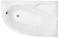 Ванна акриловая Triton Николь 160x100 L (с ножками, экраном и сифоном) -