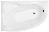 Ванна акриловая Triton Николь 160x100 R (с ножками экраном и сифоном) -