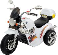Детский мотоцикл Sima-Land Чоппер / 4459527 (белый) -