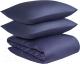 Комплект постельного белья Tkano TK19-DC0019 (темно-синий) -
