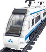 Железная дорога детская Jisi Bricks Скоростной пассажирский поезд на радиоуправлении / QL0310 -