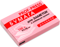 Бумага для заметок Проф-Пресс ЗБ-1550 (розовый) -
