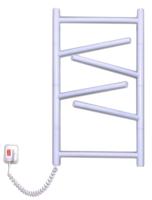 Полотенцесушитель электрический Элна Элна-6 Торцевой 64x43.5 (белый, левое подключение) -
