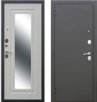 Входная дверь Гарда Царское зеркало Муар Белый ясень (86х205, левая) -