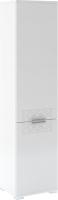 Шкаф-пенал Rinner Тиффани М12 (белый текстурный) -