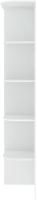Угловое окончание для шкафа Кортекс мебель Сенатор КМ32 (белый) -