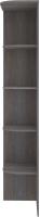 Угловое окончание для шкафа Кортекс мебель Сенатор КМ32 (берёза) -