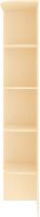 Угловое окончание для шкафа Кортекс мебель Сенатор КМ32 (венге светлый) -