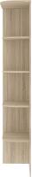 Угловое окончание для шкафа Кортекс мебель Сенатор КМ32 (дуб сонома) -