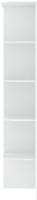 Угловое окончание для шкафа Кортекс мебель Сенатор КМ32-45 (белый) -