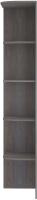 Угловое окончание для шкафа Кортекс мебель Сенатор КМ32-45 (берёза) -