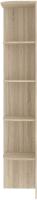 Угловое окончание для шкафа Кортекс мебель Сенатор КМ32-45 (дуб сонома) -