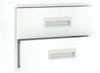 Тумба Кортекс-мебель Сенатор КМ08 (белый) -