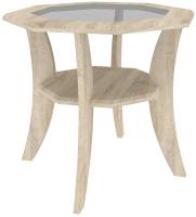 Журнальный столик Кортекс-мебель Лотос-1 (дуб сонома) -