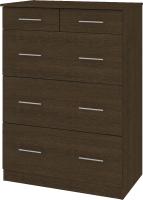 Комод Кортекс мебель Модерн 80-5ш (венге) -