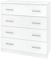 Комод Кортекс мебель Модерн 90-4ш (белый) -