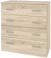 Комод Кортекс мебель Модерн 90-4ш (дуб сонома) -