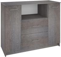 Комод Кортекс-мебель Модерн 120-2д2ш (береза) -